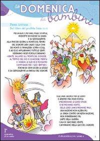 Domenica dei bambini romano. Anno A. Avvento
