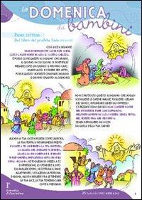 Domenica dei bambini ambrosiano. Anno C. Quaresima