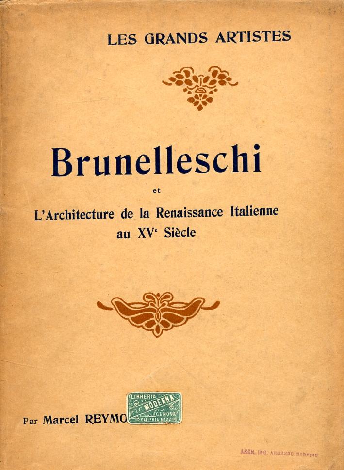 Brunelleschi et l'Architecture de la Renaissance Italienne au XV siècle