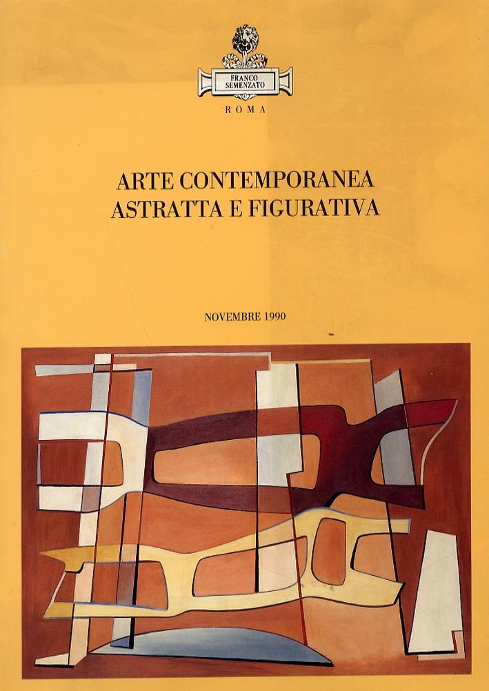 Asta in Roma. Arte contemporanea, astratta e figurativa. [Edizione italiana e inglese]