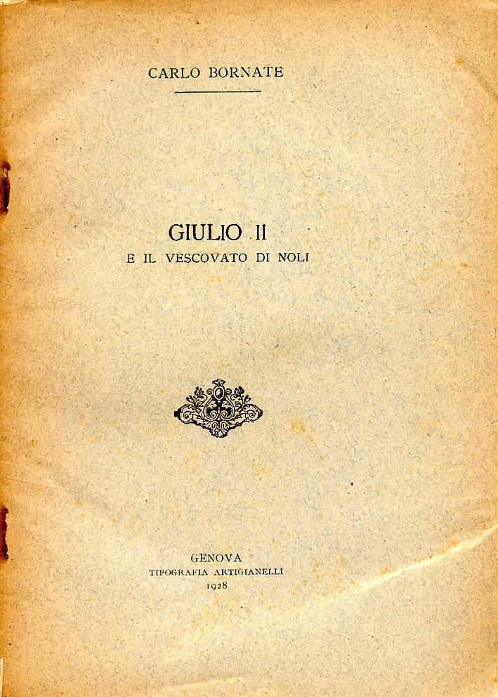 Giulio II e il vescovato di Noli