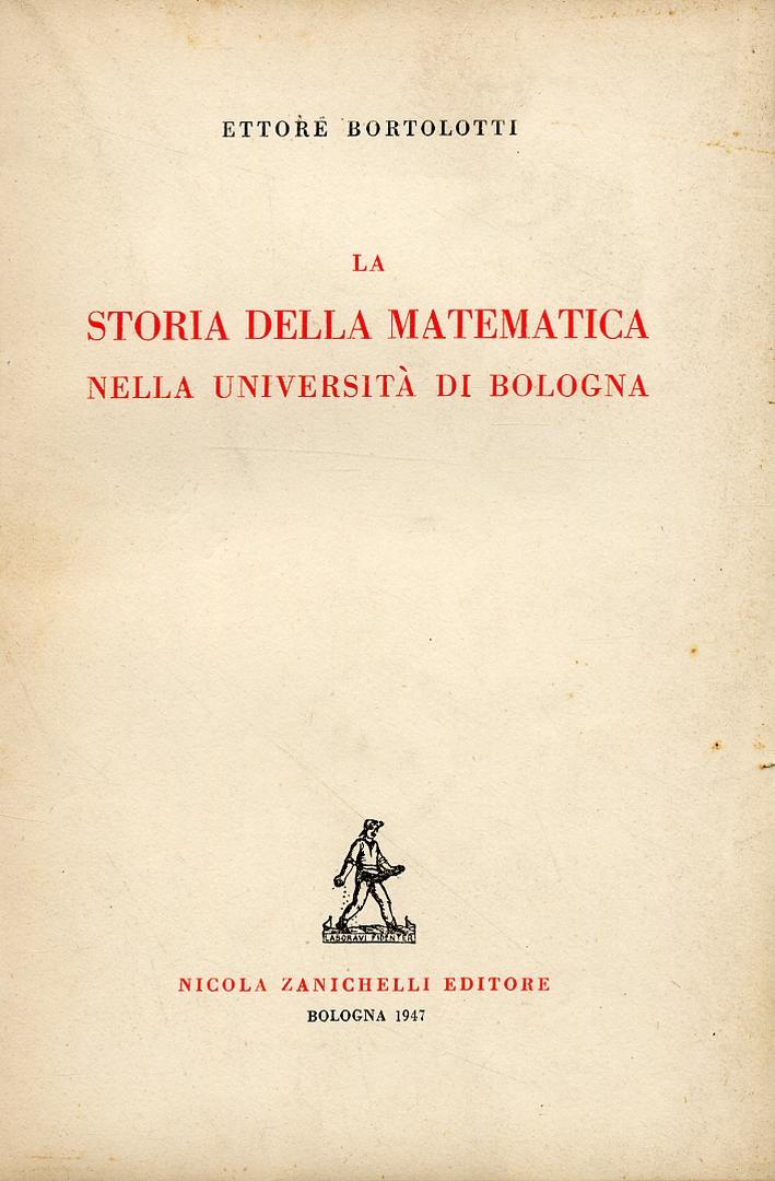 La storia della matematica nell'Università di Bologna