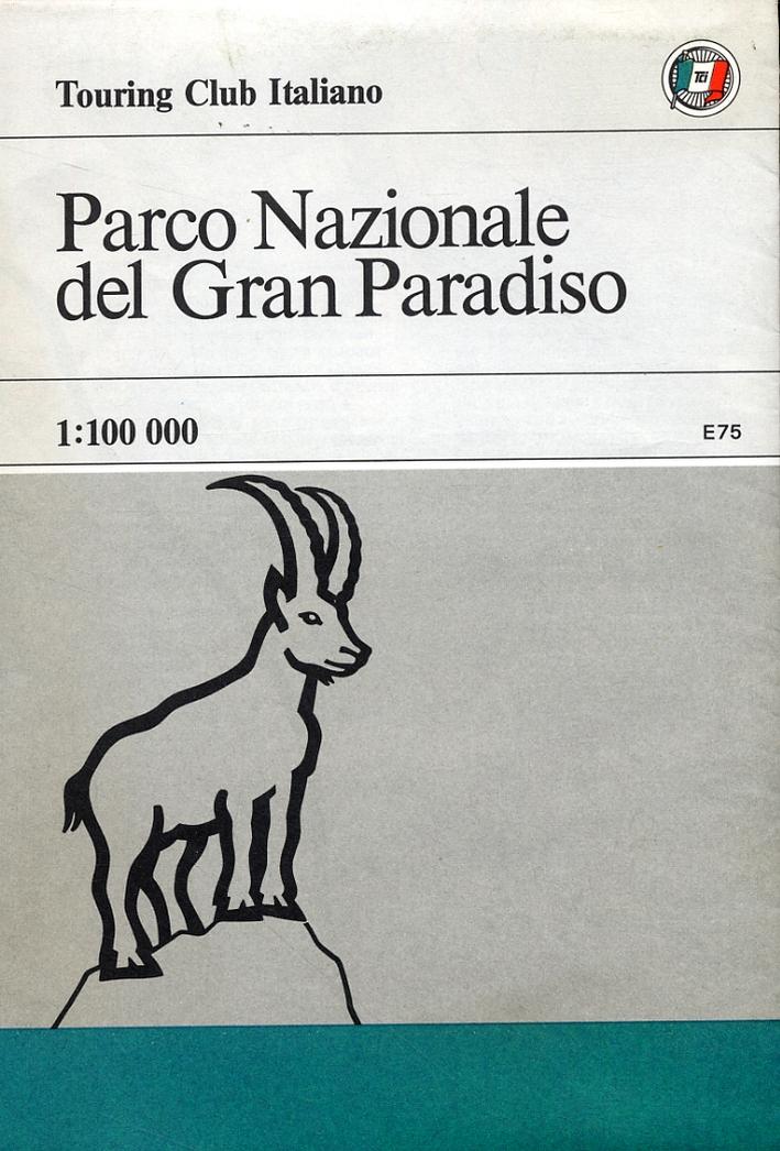 Parco Nazionale del Gran Paradiso. [Carta geografica]