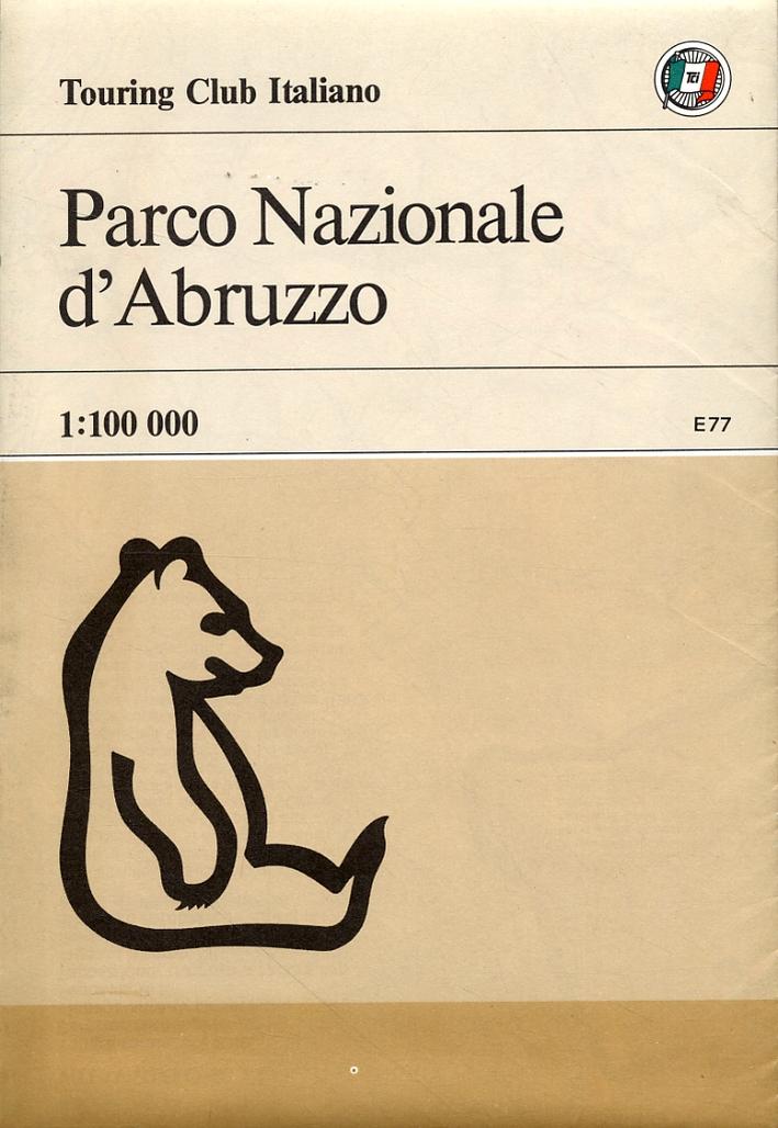 Parco Nazionale d'Abruzzo. [Carta geografica]