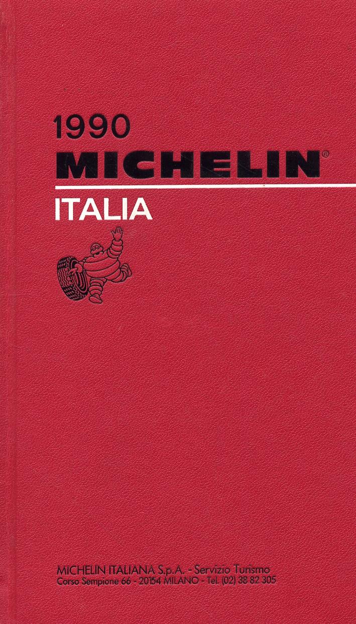 Michelin Italia 1990. [Edizione italiana, inglese, tedesca e francese]
