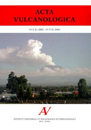 Acta Vulcanologica. Anno 18. 0001-0002. 2006