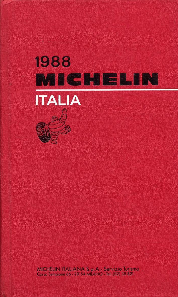 Michelin. Italia 1988. [Edizione italiana, inglese, tedesca e francese]