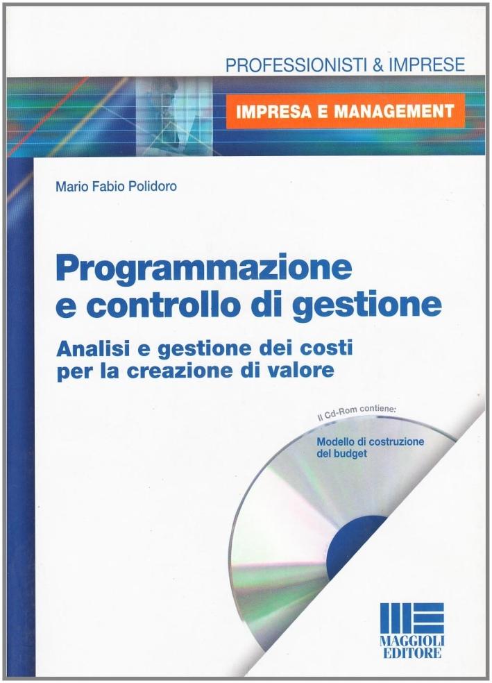 Programmazione e controllo di gestione