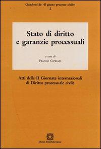 Stato di diritto e garanzie processuali.