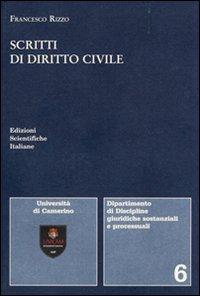 Scritti di diritto civile