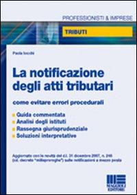 La notificazione degli atti tributari