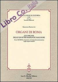Organi di Roma. Con CD-ROM