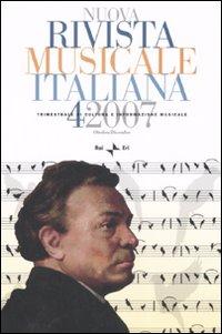 Nuova rivista musicale italiana (2007). Vol. 4
