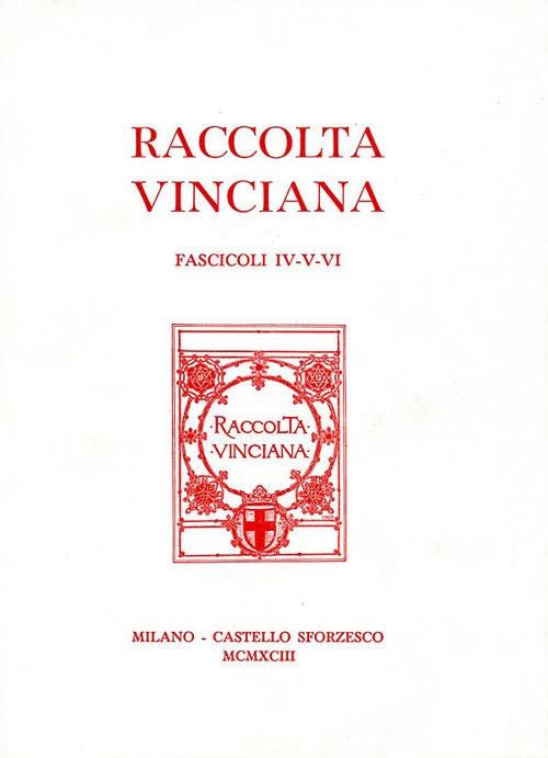 Raccolta Vinciana (1993) voll. 4-5-6