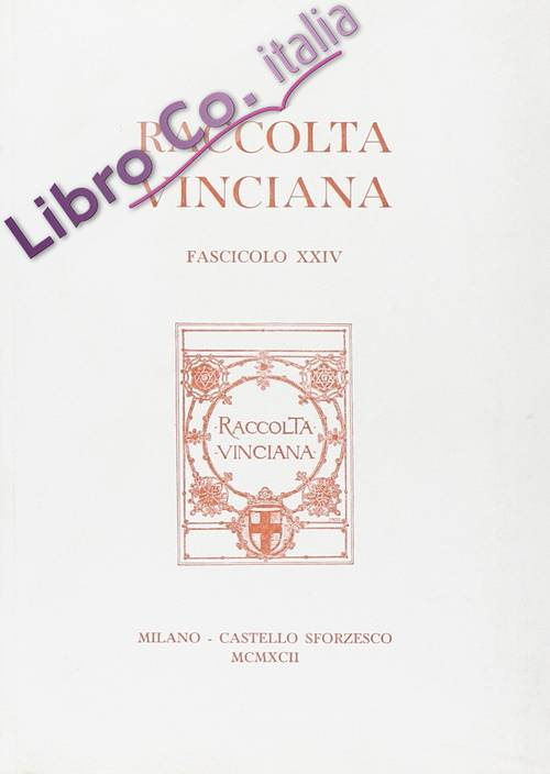 Raccolta Vinciana (1960). Vol. 24