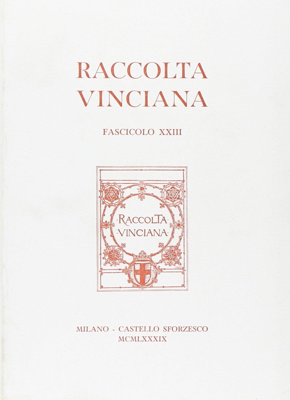 Raccolta Vinciana (1990). Vol. 23.