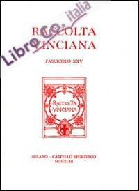 Raccolta Vinciana (1993). Vol. 25.
