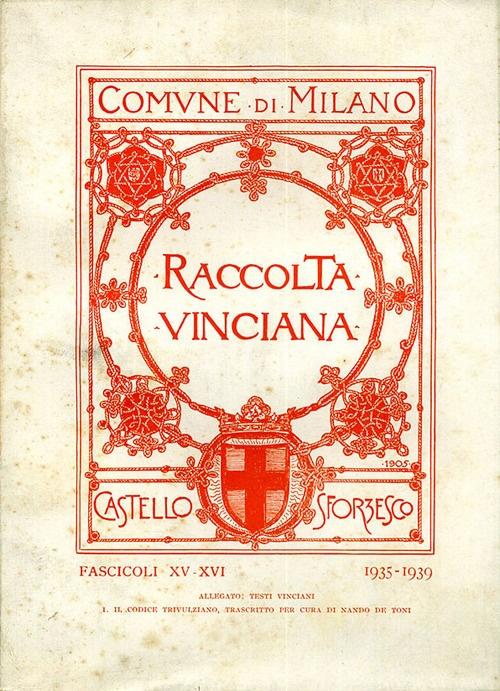 Raccolta Vinciana (1935-1939) voll. 15-16.