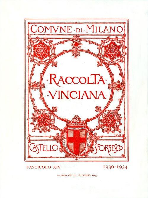 Raccolta Vinciana (1930-1934). Vol. 14