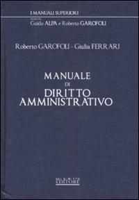 Manuale di diritto amministrativo.