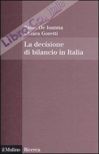 La decisione di bilancio in Italia.