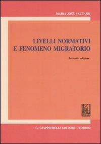 Livelli normativi fenomeno migratorio