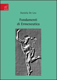 Fondamenti di Ermeneutica