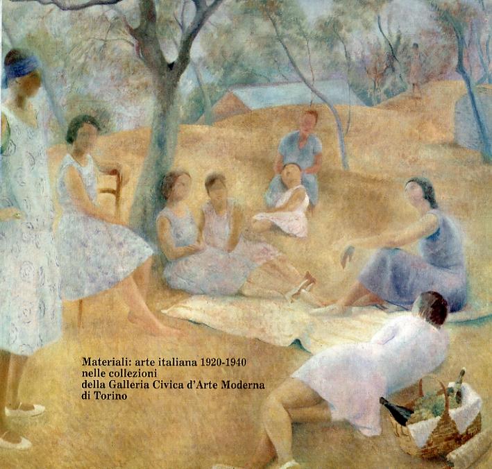 Materiali. Arte italiana 1920-1940 nelle collezioni della Galleria d'Arte Moderna di Torino