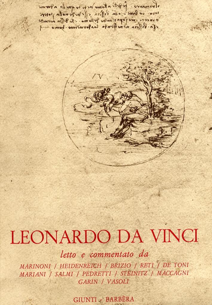 Leonardo da Vinci. Letture vinciane. I-XII. (1960-1972).