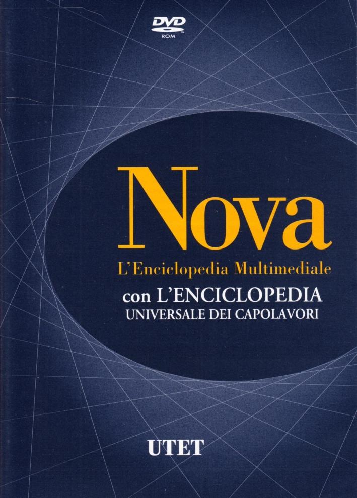 Nova. L'enciclopedia UTET. Aggiornamento 2008. DVD
