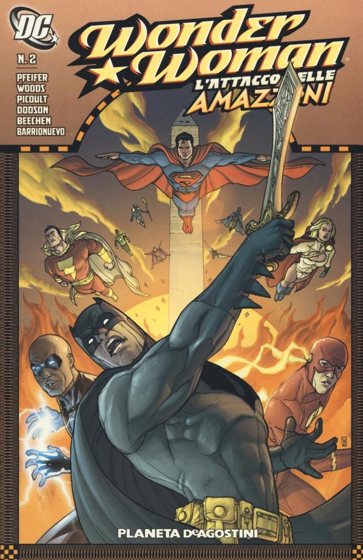 L'attacco delle amazzoni. Wonder Woman. Vol. 2.