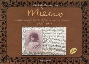 Miecio. Lettere e cartoline di Janina Roza Horszowska (1900-1904). Con Audio. [English Ed.].