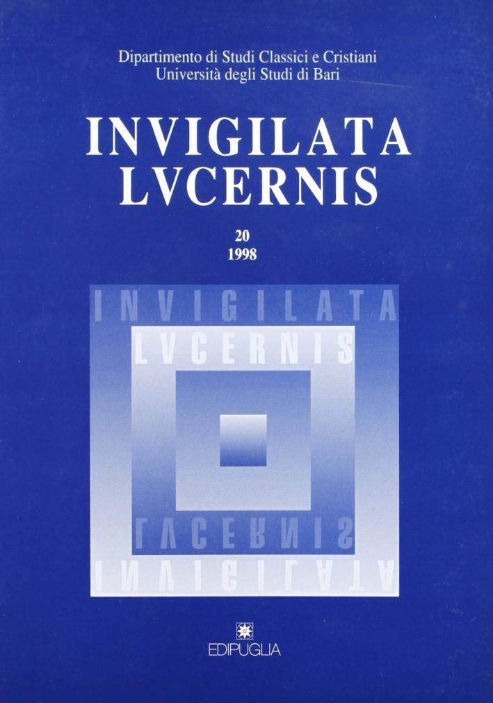 Invigilata lucernis. Vol. 20