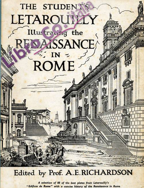 The student's letarouilly illustrating the renaissance in Roma