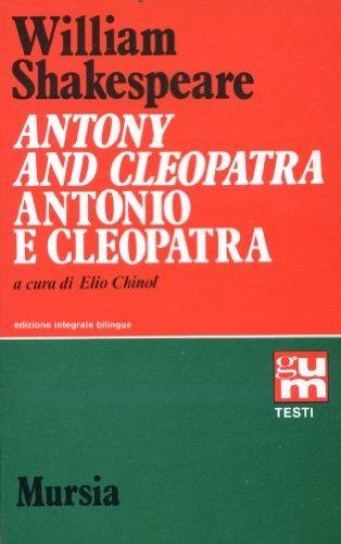 Antony and CleopatraAntonio e Cleopatra