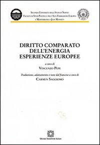 Diritto comparato dell'energia. Esperienze europee.