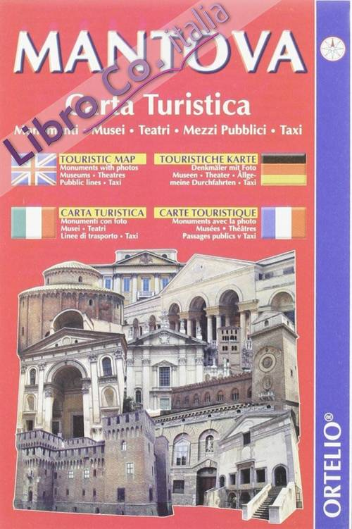 Mantova. Carta turistica