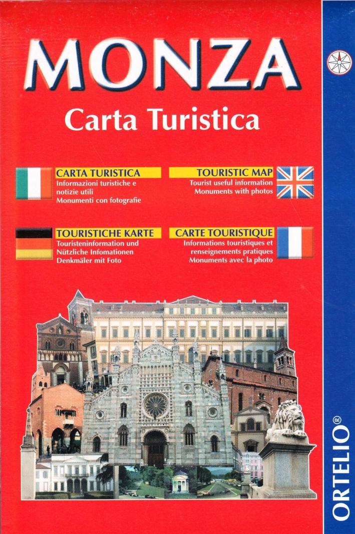 Monza. Carta turistica