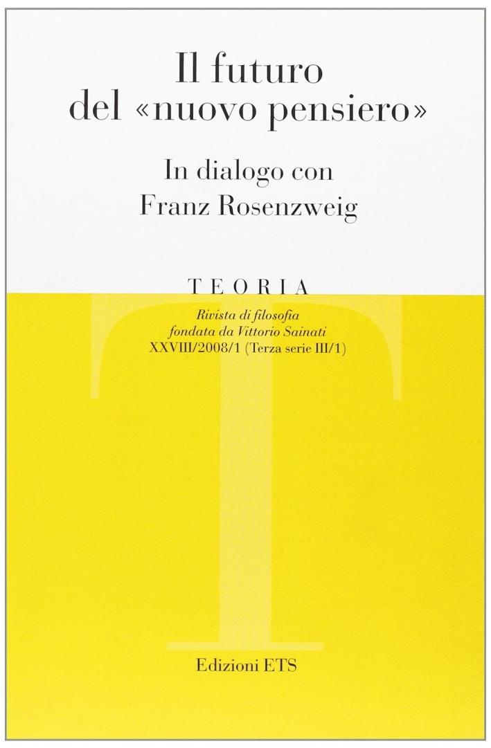 Teoria (2008). Vol. 1: il Futuro del