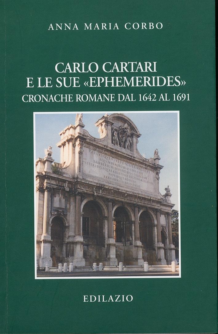 Carlo Cartari e le sue