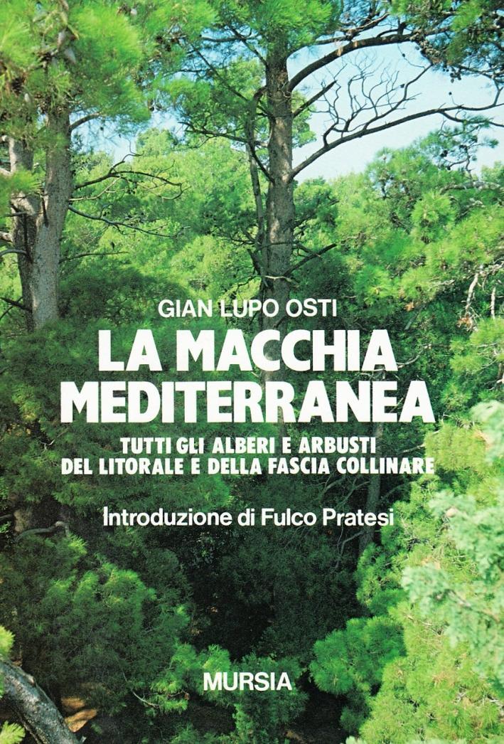 La macchia mediterranea. Tutti gli alberi e arbusti del litorale e della fascia collinare