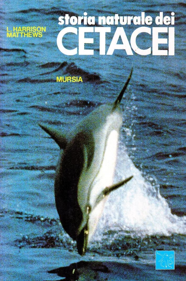 Storia naturale dei cetacei
