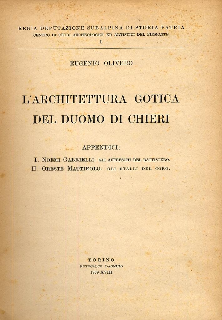 L'architettura gotica del duomo di Chieri