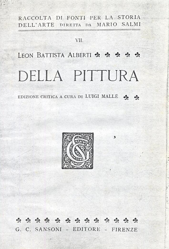 Leon Battista Alberti. Della pittura