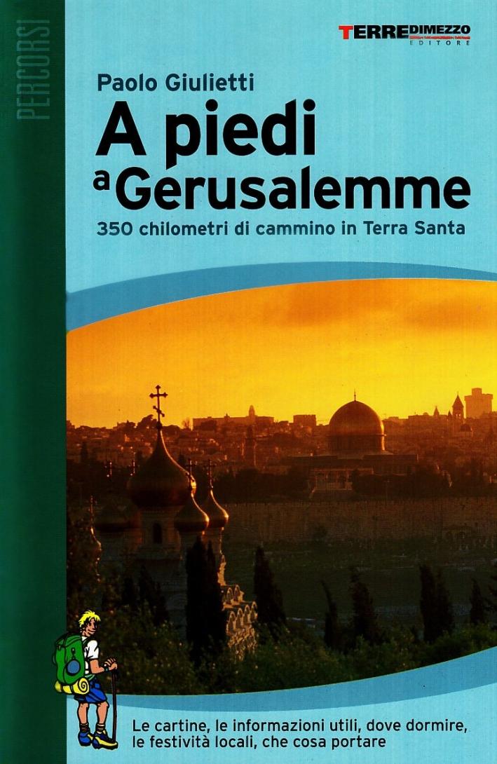A piedi a Gerusalemme. 350 chilometri di cammino in Terra Santa