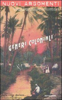 Nuovi argomenti. Vol. 43: Generi coloniali