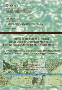 Le aree di laguna nella carta geologica ufficiale d'Italia. Foglio 128