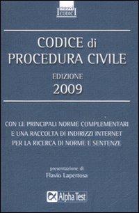 Codice di procedura civile 2009