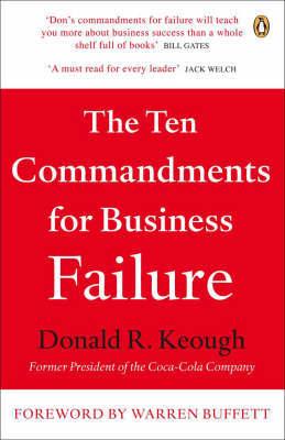 Ten Commandments for Business Failure