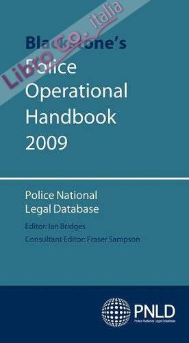 Blackstone's Police Operational Handbook